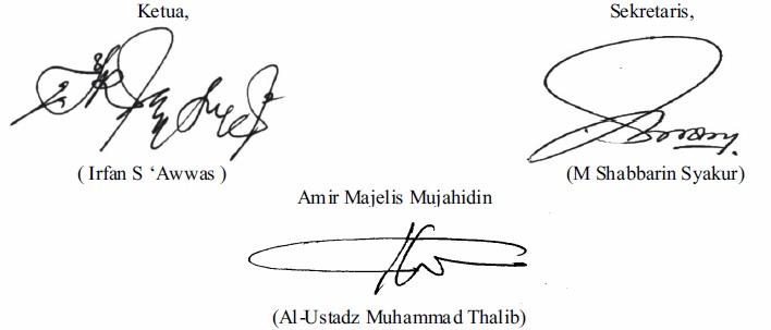 Press Release: Mewaspadai Manuver Perseteruan Kaum Agamawan dengan Rezim SBY