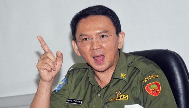 Gubernur DKI Jakarta Zhong Wan Xie alias Ahok (foto: tempo.co)